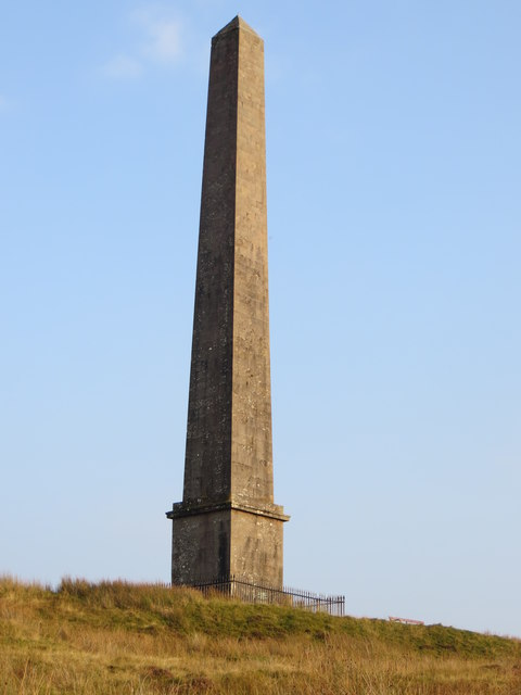 The Malcolm Monument on Whita Hill