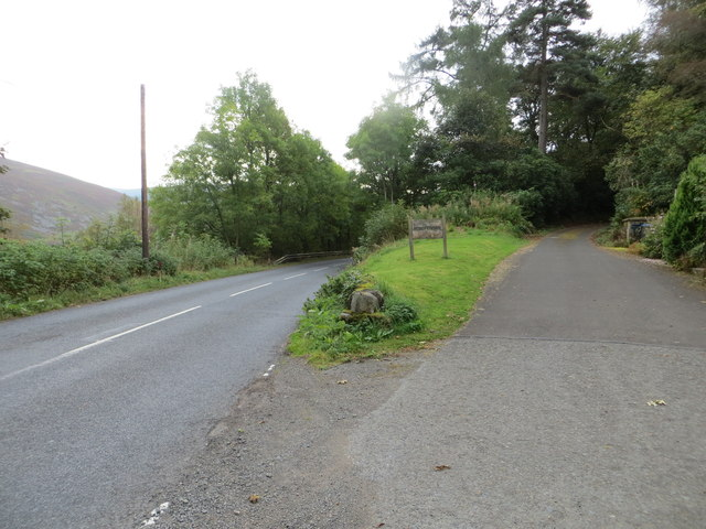 Road (A701) at Junction to Mossfennan