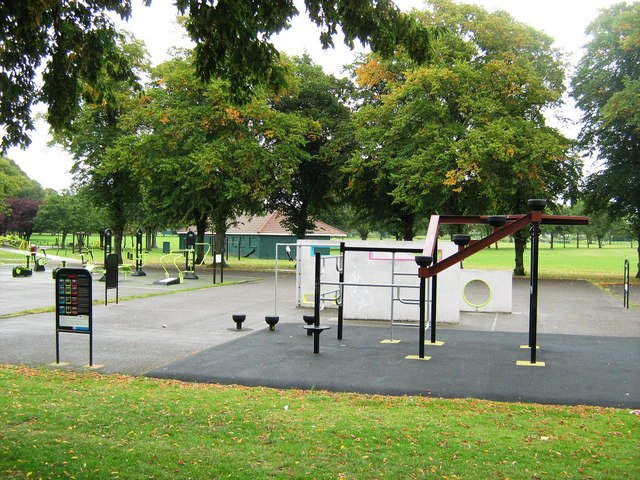 Play area, Goodmayes Park