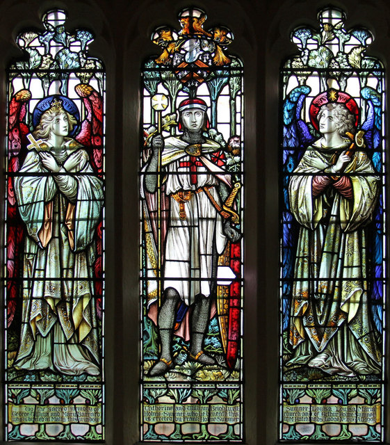 St Thomas of Canterbury, East Clandon - Stained glass window