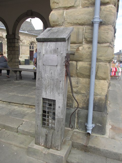 Buttercross and attached pump #3