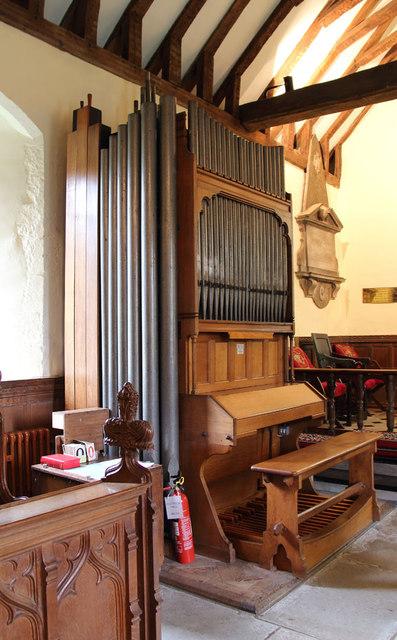 St Thomas of Canterbury, East Clandon - Organ