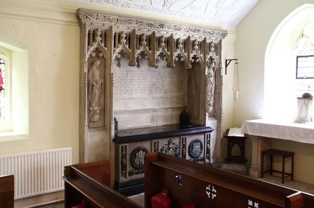 St Thomas of Canterbury, East Clandon - Tomb