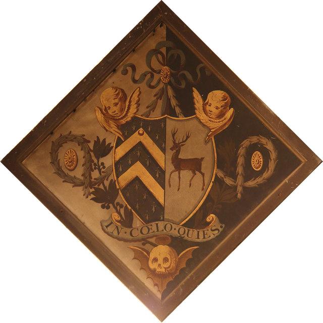 St Thomas of Canterbury, East Clandon - Hatchment
