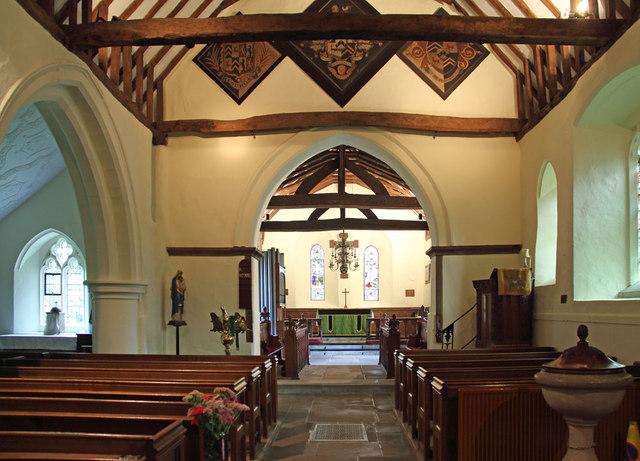 St Thomas of Canterbury, East Clandon - East end