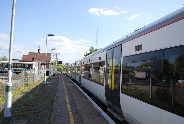 Horsham train at Warnham Station