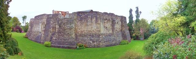 Farnham Castle Walls