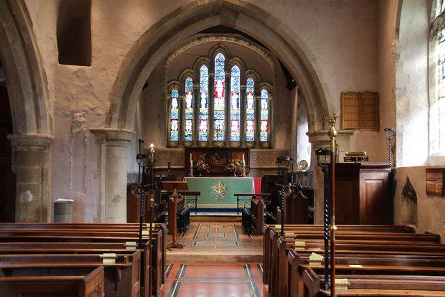 All Saints, Ockham - East end