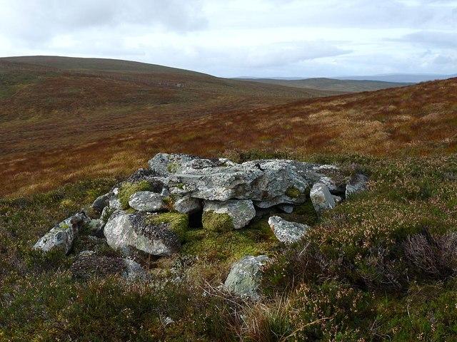 Cairn above Strath Brora, Sutherland