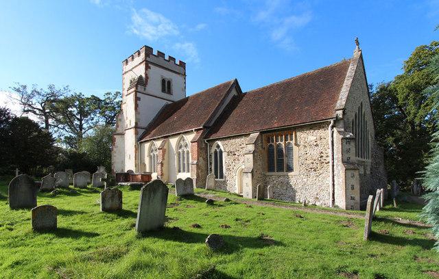 All Saints, Ockham