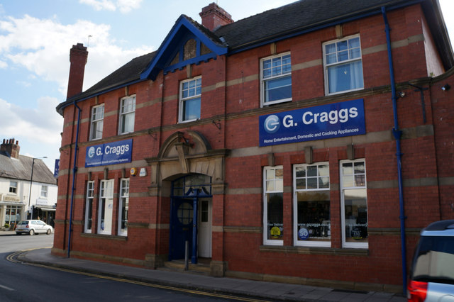 G Craggs on Fishergate, Boroughbridge