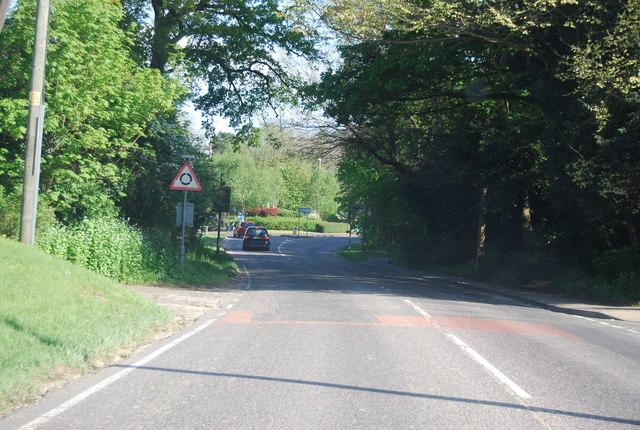 A281 into Horsham