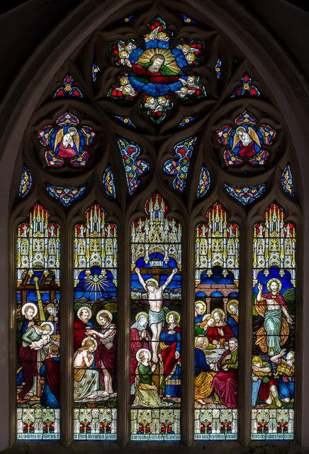 East window, All Saints' church, Icklesham