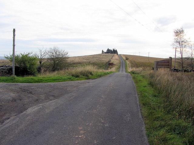 Ward Lane west of Standard Hill