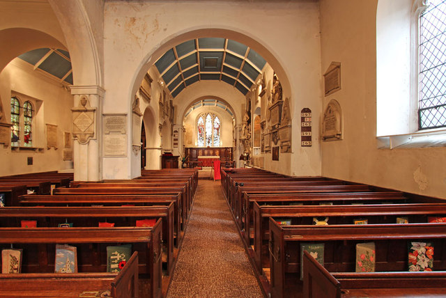 St Luke, Charlton - East end