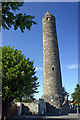 O0631 : Clondalkin Round Tower, Tower Road, Clondalkin by Jo Turner