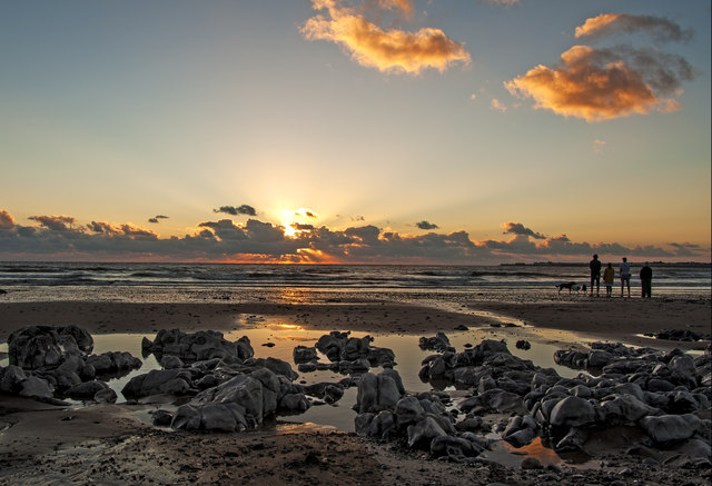 Time to ponder - Ogmore Estuary