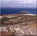 NM2825 : Lagandorain from Dun I by Peter Bond