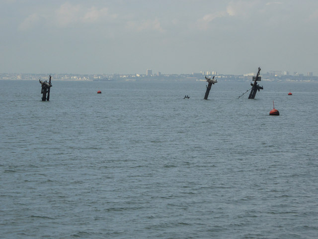 Wreck Of The SS Richard Montgomery Off  Christine