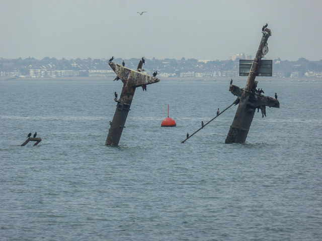 Wreck Of The SS Richard Montgomery Off C Christine