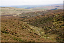 SD9435 : Greave Clough by Bill Boaden
