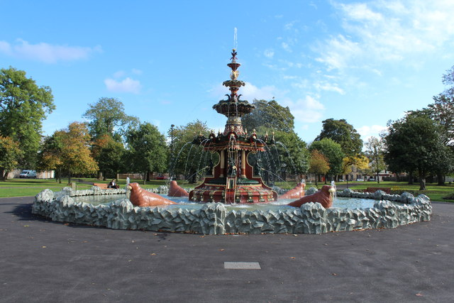Fountain Gardens Paisley Billy Mccrorie Geograph