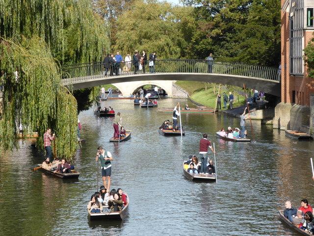 Punt congestion - Cambridge