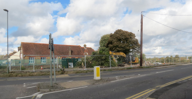 Site cleared for new houses at New Mill, Tring