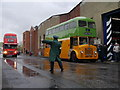 NS6164 : GVVT Open Day 2014: Directing Traffic On Broad Street : Week 41