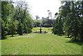 TQ6039 : Terracotta fountain, Dunorlan Park by N Chadwick