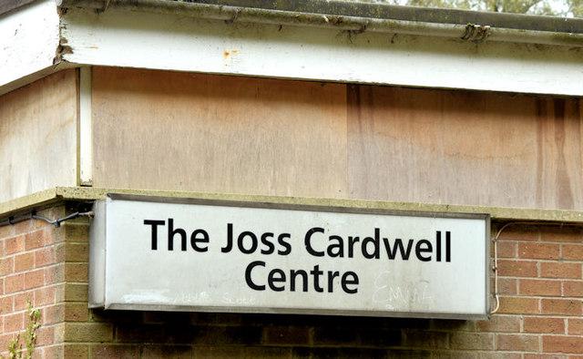 Former Joss Cardwell Centre, Belfast - October 2014(2)
