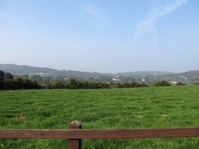 Grassland on the west side of Maphoner Road