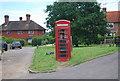TQ5247 : Telephone kiosk, Charcott by N Chadwick