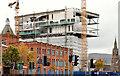 """J3374 : Block """"B"""", University of Ulster site, Belfast - October 2014(1) by Albert Bridge"""