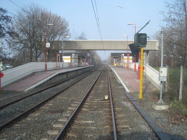 Tyne Dock Metro Station
