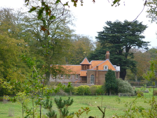 Anmer hall norfolk has a new roof richard humphrey cc for Anmer hall