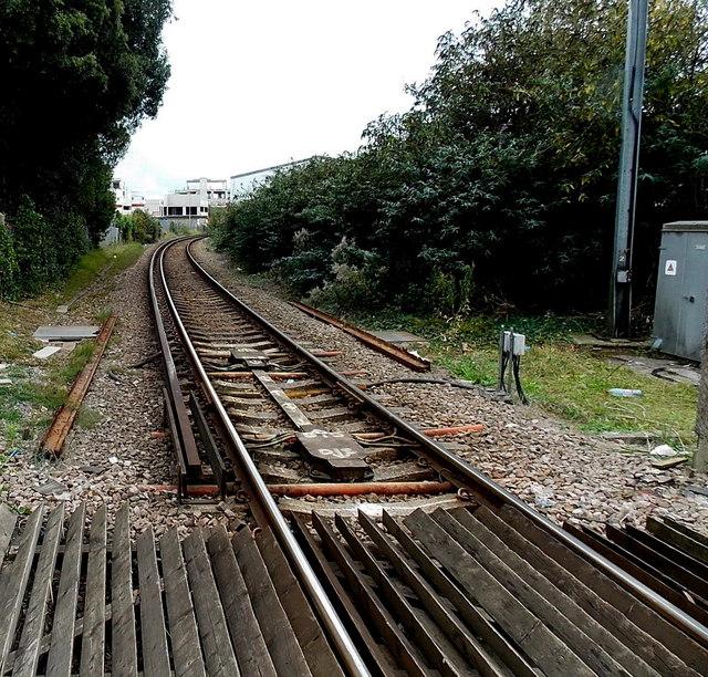 end of the third rail near a lymington     u00a9 jaggery
