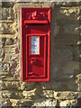 SP9848 : Georgian postbox in Stagsden by Philip Jeffrey