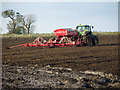 TA0114 : Seed Drilling near Worlaby : Week 43