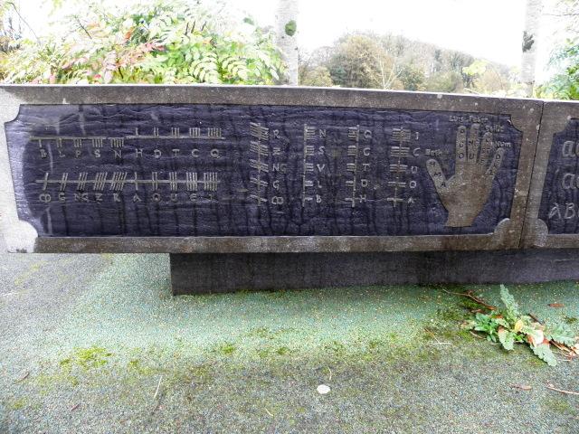 Ogham alphabet, Plumbridge