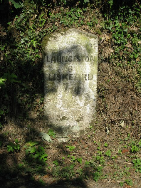 Milestone at Botternell