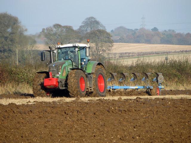 Autumn Ploughing on Elsham Wold