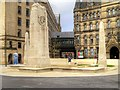 SJ8398 : Manchester Cenotaph and Associated Obelisks, St Peter's Square by David Dixon