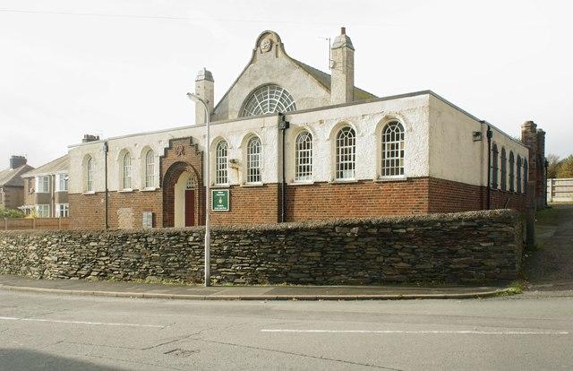 Old building on Moor Road