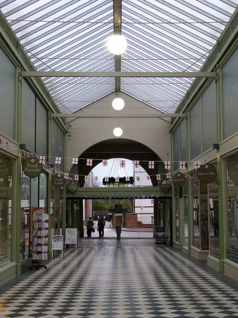 The Arcade, Letchworth