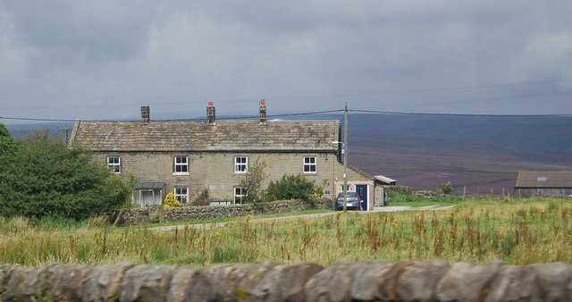 Terraced cottages, Greenhow
