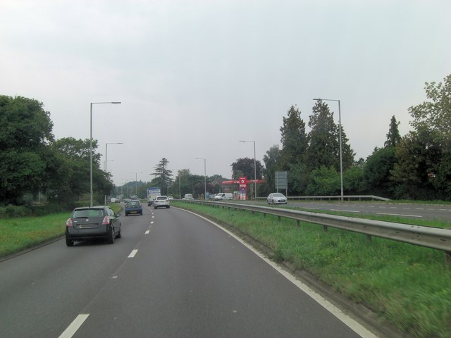 A31 passes Murco Filling Station