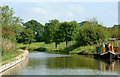 SJ8458 : Macclesfield Canal near Ackers Crossing, Cheshire by Roger  Kidd