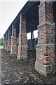 SK2567 : Open Sided Barn by Mick Garratt