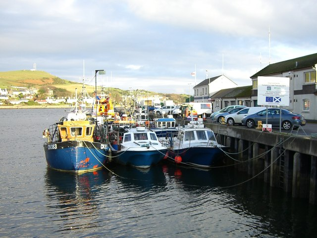 Boats at the Old Quay, Campbeltown
